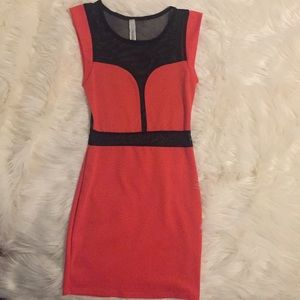 Dresses & Skirts - Mesh Bodycon Dress